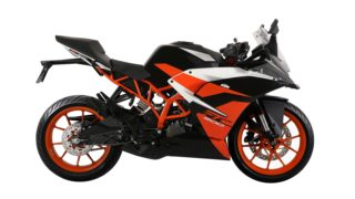 Black colour option KTM RC 200