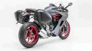 Ducati SuperSport Matt Titanium Grey colour option
