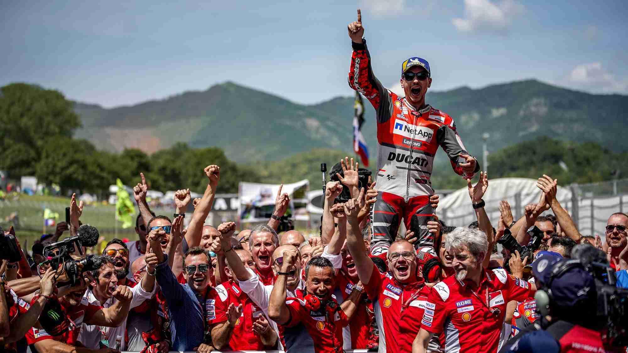Jorge Lorenzo takes win at MotoGP Mugello 2018
