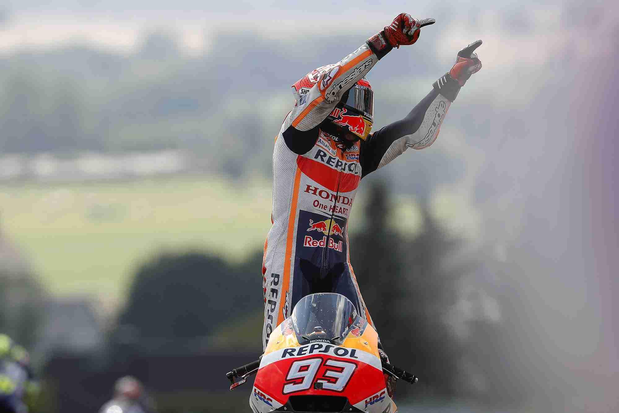 Marc Marquez Sachsenring MotoGP