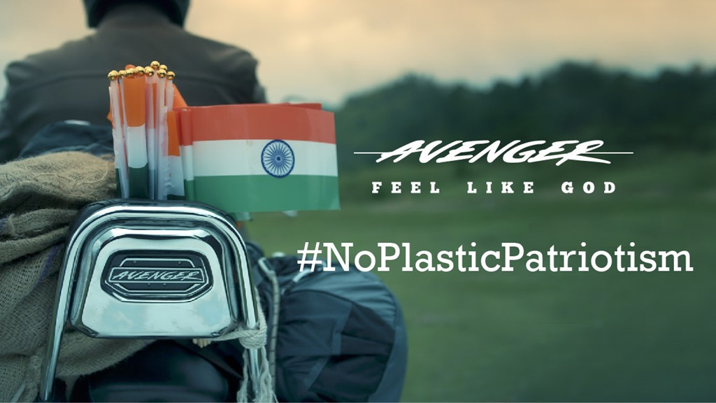 Bajaj Avenger Independence Day campaign