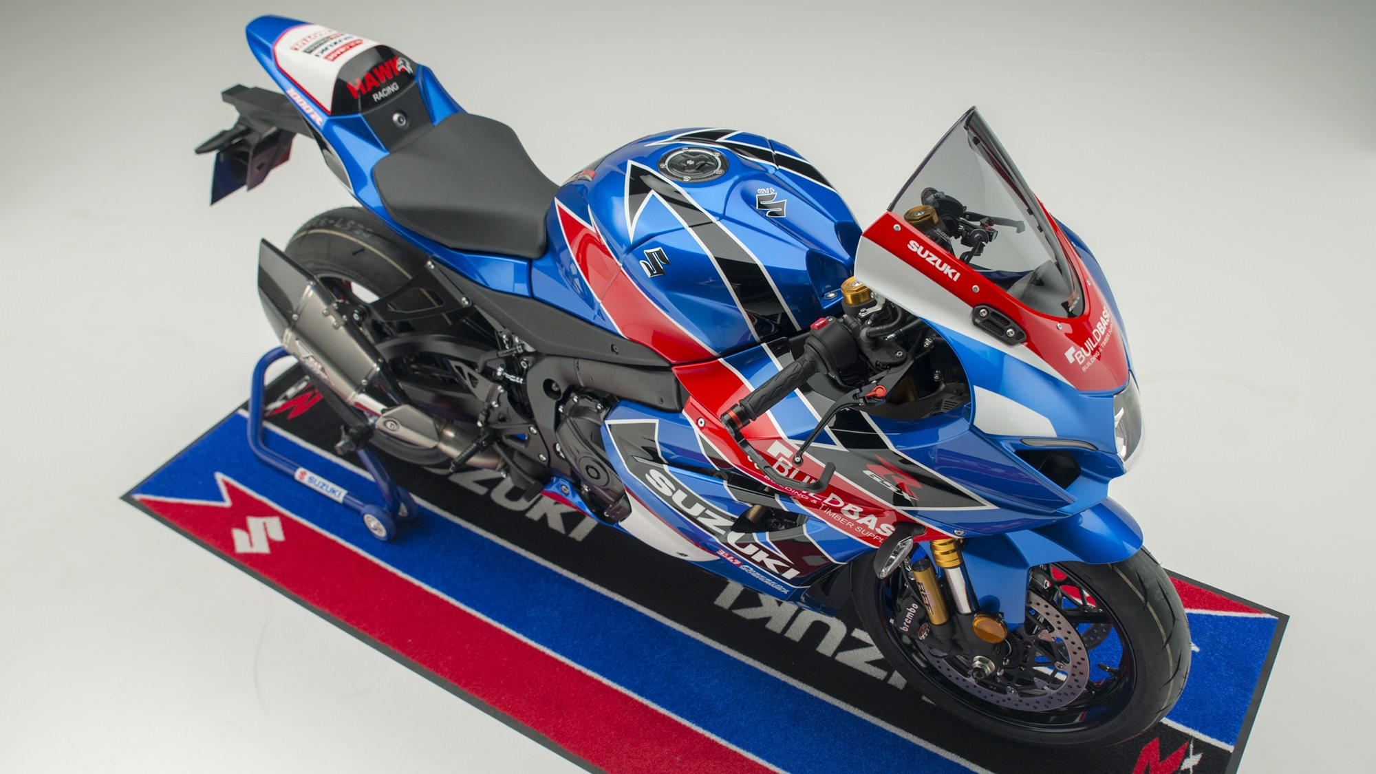 Limited edition Buildbase Suzuki replica GSX-R1000R
