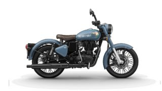 Royal Enfield Signals Airborne Blue colour option