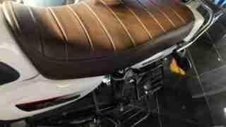 TVS Radeon seat