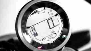 2019 Ducati Scrambler digital meter