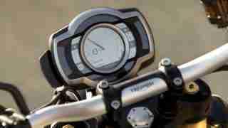 2019 Triumph Scrambler 1200 XE meters