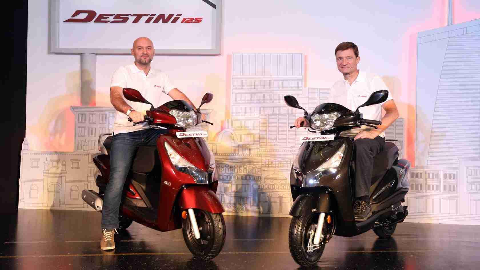 Hero Destini 125 scooter
