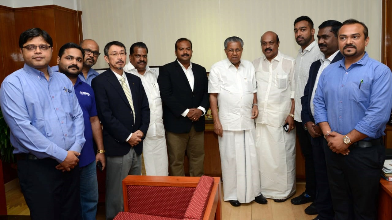 Yamaha India donates 30 lakhs for Kerala relief