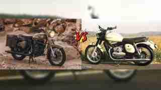 Jawa versus Royal Enfield Classic 350