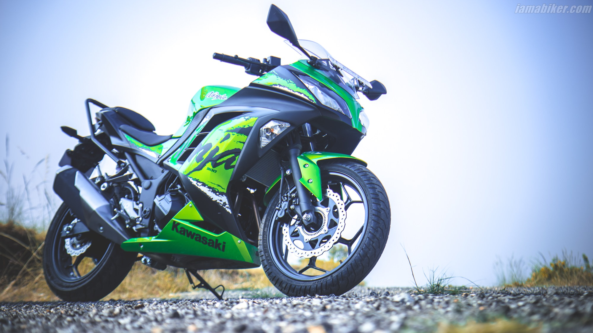 2019 Kawasaki Ninja 300 Abs Hd Wallpapers Iamabiker Everything
