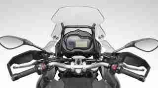 Benelli TRK 502 India speedometer