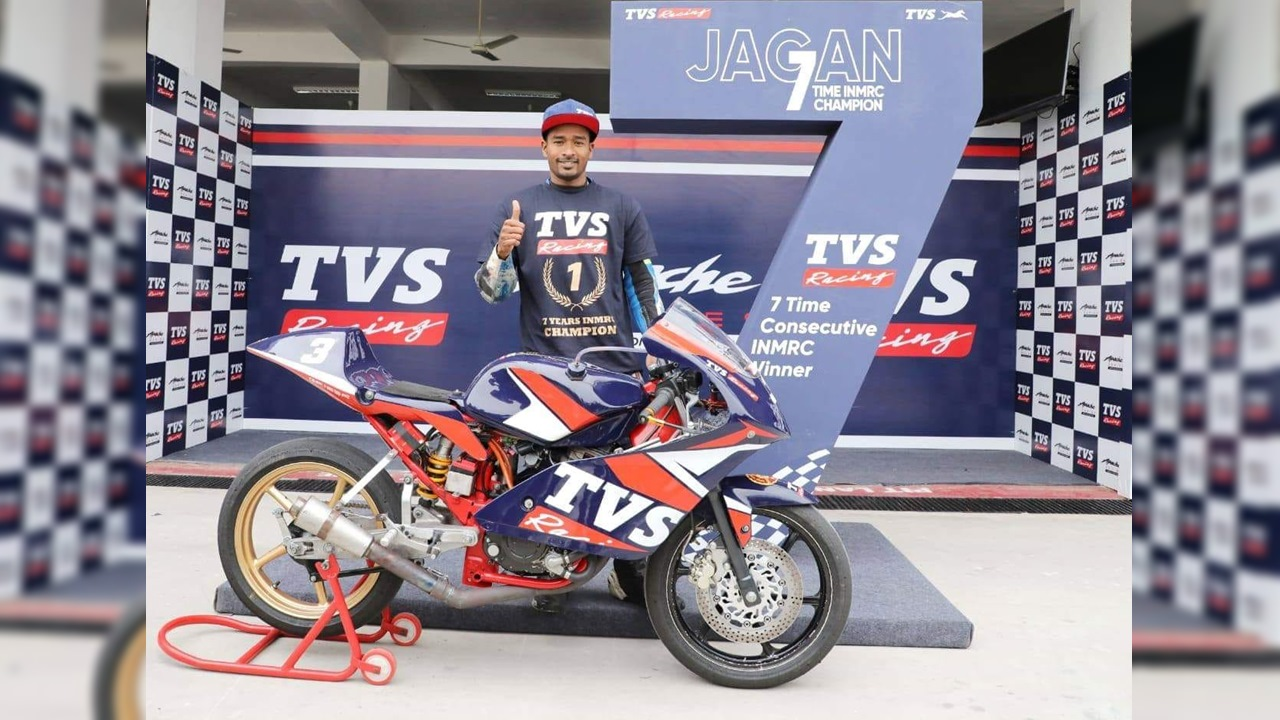 Jagan Kumar wins National Championship for the 7th time