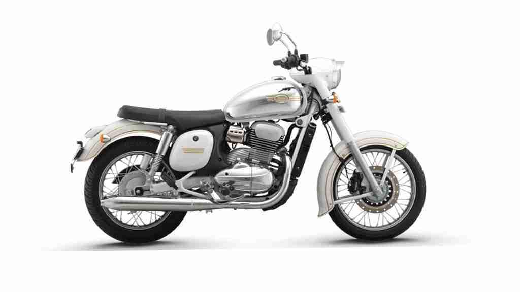 Jawa Grey colour option