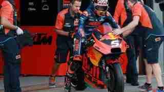 Johan Zarco on KTM RC16