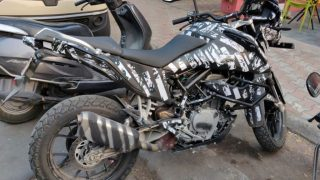 KTM 390 Adventure spotted in India pics