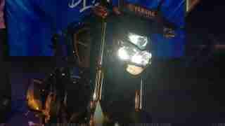 2019 Yamaha FZ-S Fi ABS V3.0 LED headlight on