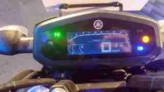 2019 Yamaha FZ-S Fi ABS V3.0 digital meter on