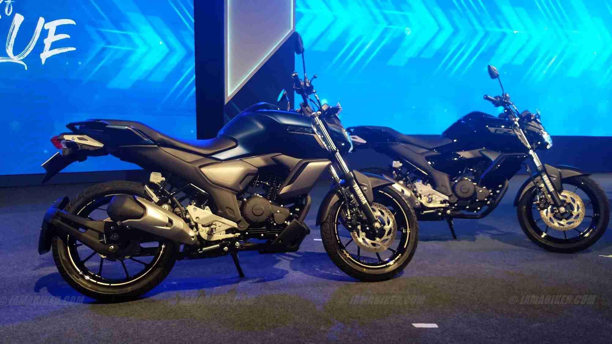 2019 Yamaha FZ-S Fi ABS V3.0 silencer