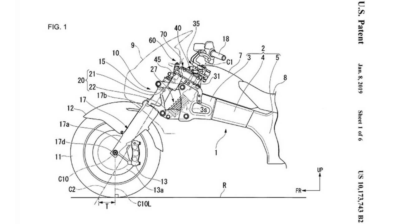 Honda Steering Assist Patent papers