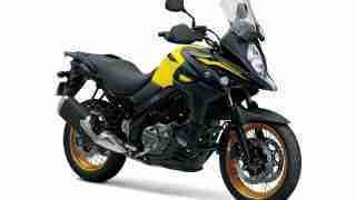 Suzuki V-Strom 650 XT ABS - Champion Yellow No.2 colour option