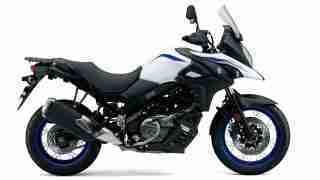 Suzuki V-Strom 650 XT ABS - Pearl Glacier White colour option