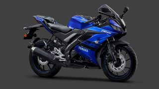 Yamaha R15 V3 gets Dual Channel ABS Blue