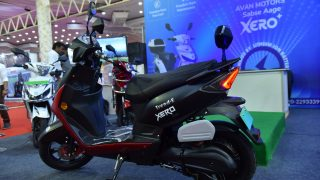 Avan Motors Trend E Xero electric scooter
