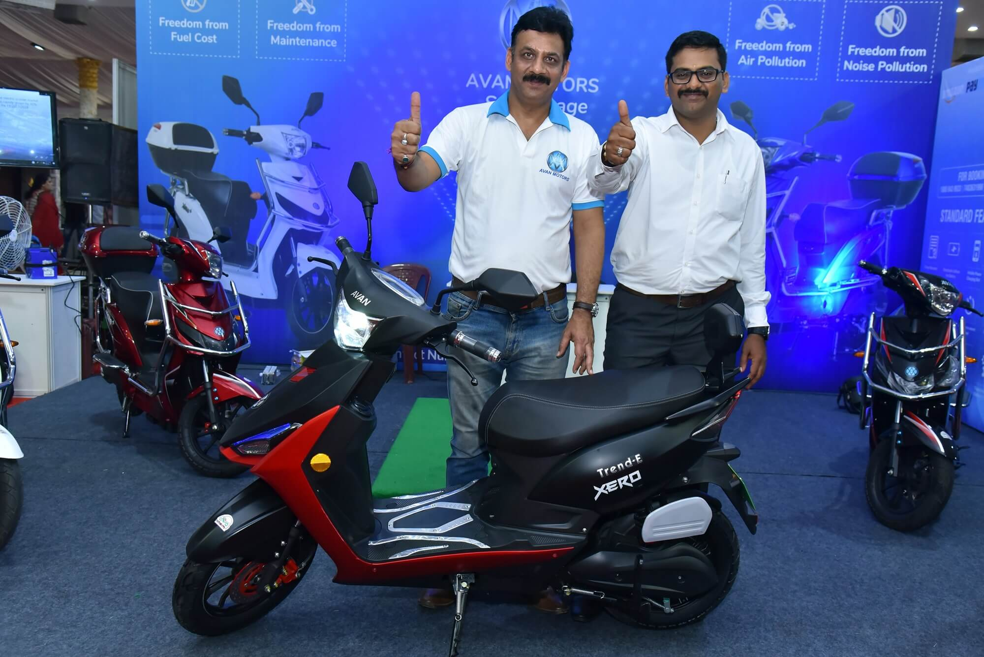 Avan Motors Trend E electric scooter unveiled