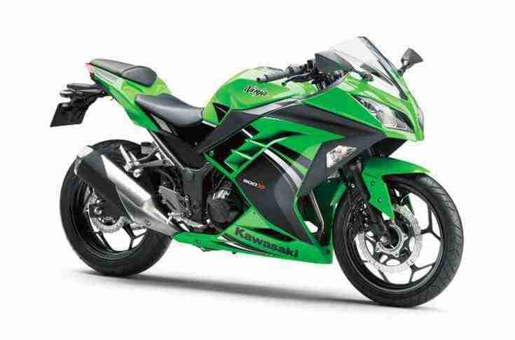 2019 Kawasaki Ninja 300 ABS Lime Green