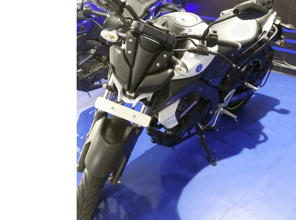 Yamaha MT-15 Glossy White