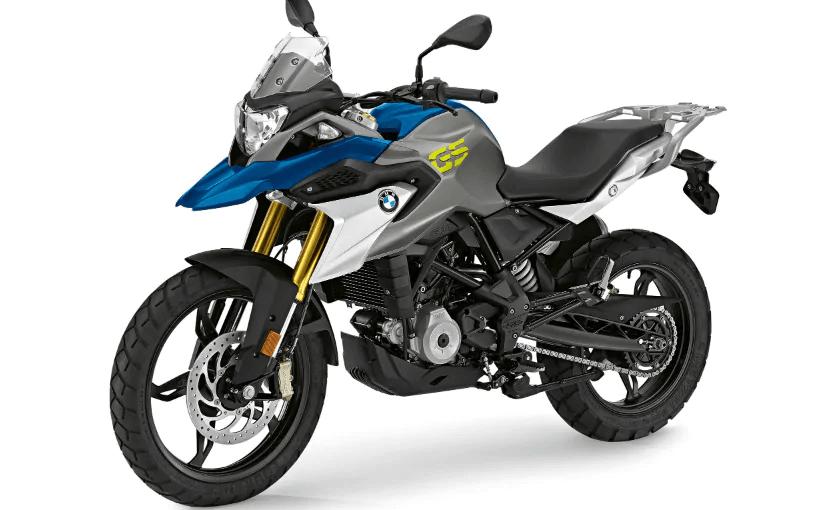 2020 BMW G310 GS blue