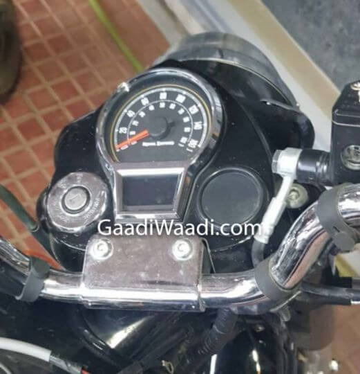 2020 Royal Enfield Classic instrument cluster spy shot