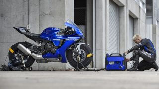 2020 Yamaha YZF-R1 HD wallpaper