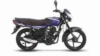 Bajaj CT 110 blue colour option