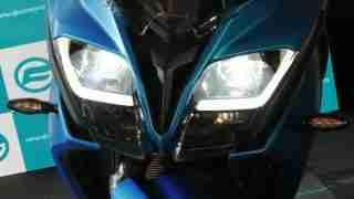 CFMoto 650GT LED headlights