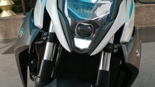 CFMoto 650NK front