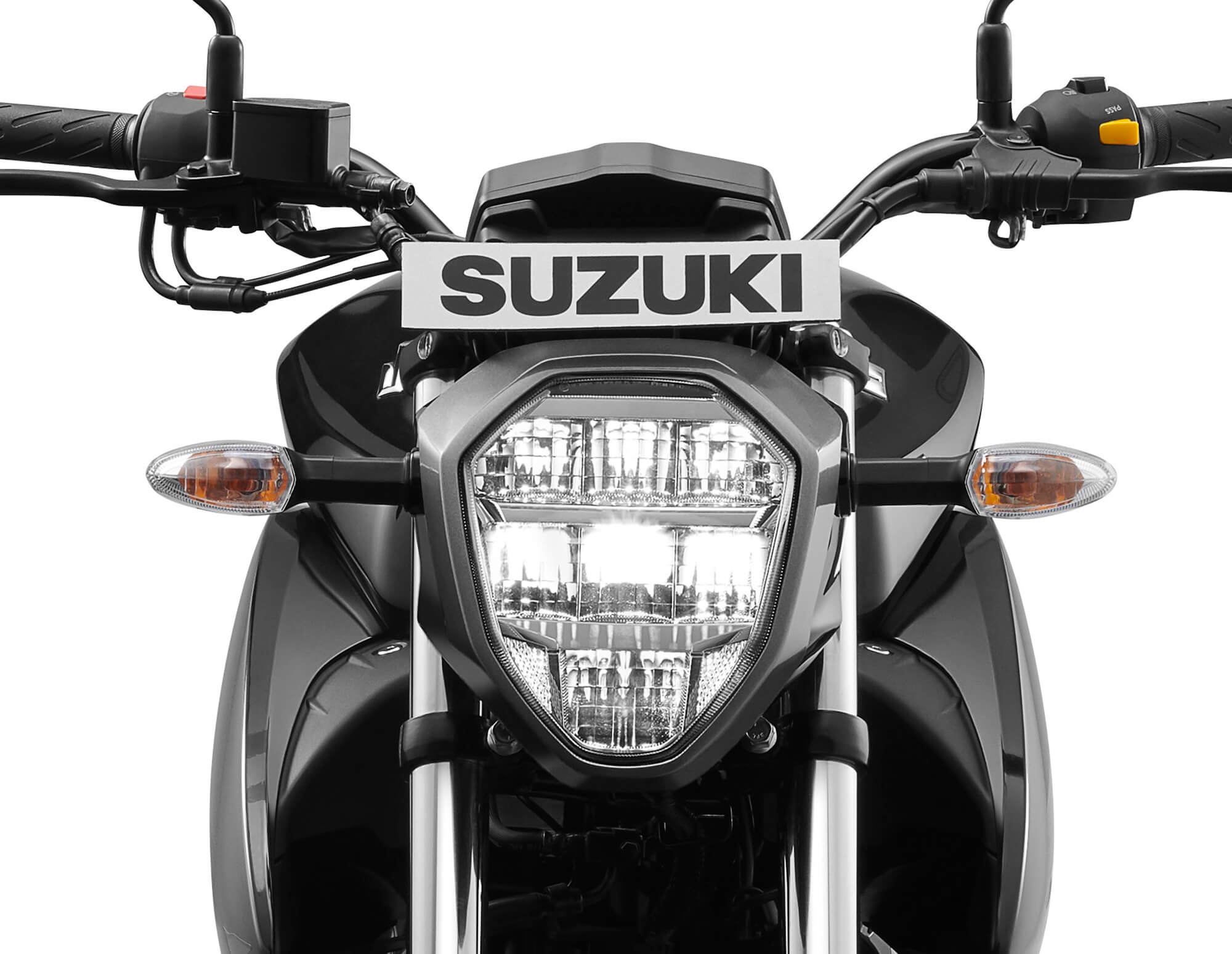 New updated Suzuki Gixxer - back view