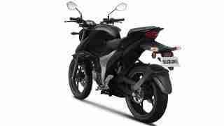 New updated Suzuki Gixxer - back view