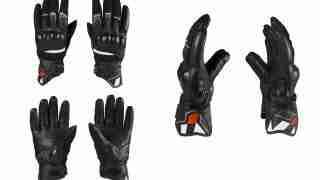 viaterra holeshot gloves all angle views
