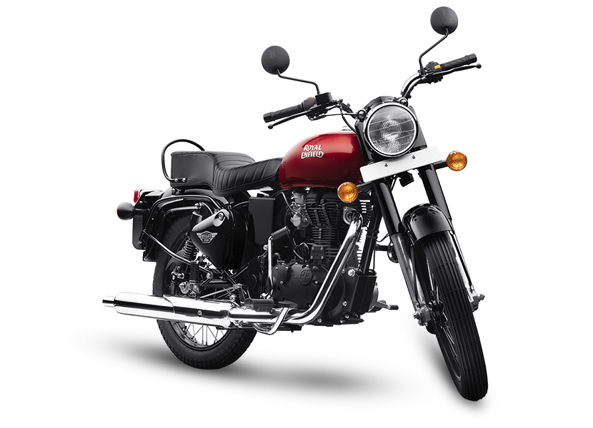 2019 Royal Enfield Bullet 350 ES regal red