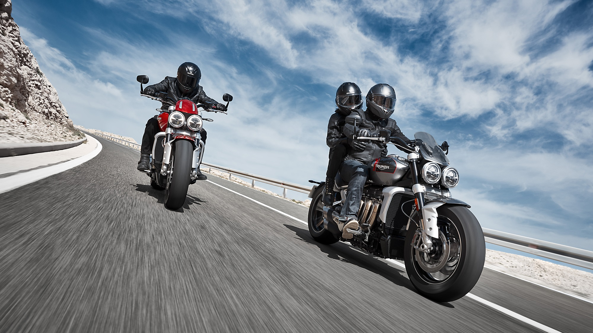 2019 Triumph Rocket 3 R And Gt Hd Wallpaper Iamabiker