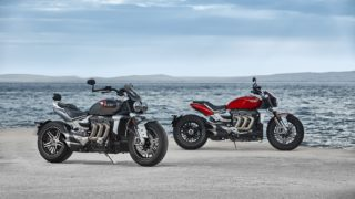2019 Triumph Rocket 3 R and GT HD wallpaper