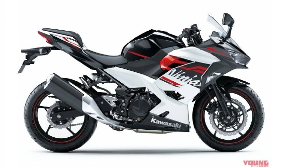 2020 Kawasaki Ninja 400 new black-white-red