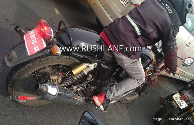2020 Royal Enfield Continental GT 650 BS6 test mule