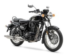 Benelli Imperiale 400 black front