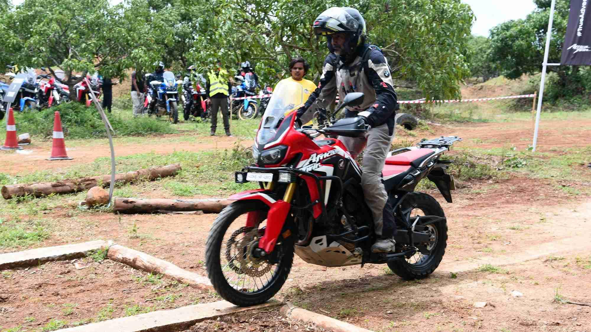 Honda Africa Twin True Adventure Camp reaches Bengaluru