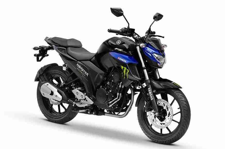 Yamaha FZ25 Monster Energy MotoGP Limited Edition