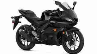 2020 Yamaha YZF-R3 colour option Matte Black