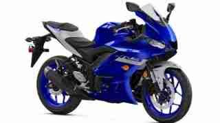 2020 Yamaha YZF-R3 colour option Yamaha Blue