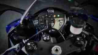 2020 Yamaha YZF-R6 cockpit instrument meter